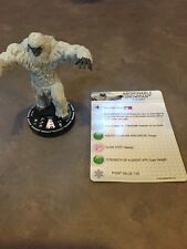 Abominable Snowman Wk-005 Wizkids Holiday Winter Kit Heroclix Monthly Op Le