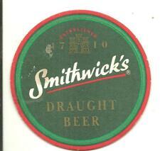 Bierviltje sous-bock Bierdeckel &16436 Smithwick's