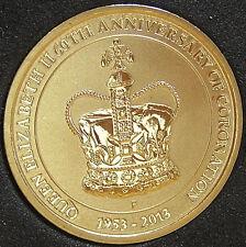 "*2013 Australian ""60th Anniversary of Queen Elizabeth II Coronation"" $1 UNC*"