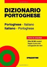 DIZIONARIO TASCABILE PORTOGHESE ITALIANO ITALIANO PORTOGHESE De AGOSTINI