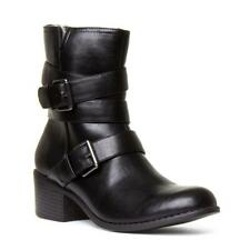 Womens Boot Buckle Boot in Black by Lilley & Skinner Size UK 3,4,5,6,7,8