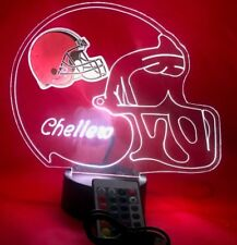 Cleveland Browns NFL Football Light Up Lamp LED with Remote Personalized Free