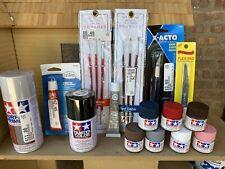 Model Kit Tamiya Paint /Brushes /Spray Etc