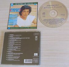CD ALBUM BEST OF HISTOIRE DE MA VIE VOLUME 2 FREDERIC FRANCOIS 14 TITRES 1992