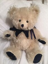 """15"""" Rare Le 419/500 Canterbury Bears """"BlueBell"""" Plush Jointed England"""