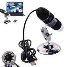 MICROSCOPIO DIGITALE USB 1000X WIN7 PC NOTEBOOK 8 LED ENDOSCOPIO 2 MP HD CMOS SE
