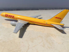 1/400 Scale Boeing 757 DHL Yellow Alloy Aircraft Diecast Plane Air Shipping Gift