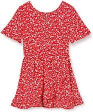 Tommy Hilfiger Blumenmuster Print Tea Dress Ss [Size 140/152] Girls Dress New