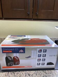 Miele Compact C1 Turbo Team Canister Vacuum - Obsidian Black  41CAE037 New