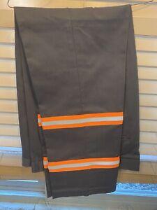 NEW Reflective Pocket Safety Hi Vis Work Pants Industrial Uniform Towing
