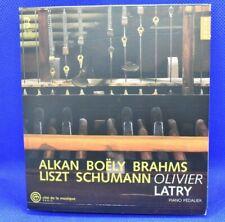 NEW Oliver Latry Plays Alkan, Boëly, Brahms, Liszt, Schumann Latry CD Open