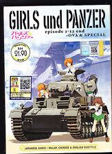 *NEW* GIRLS UND PANZER*12 EPISODES/OVA/SPEC*DVD*ENGLISH SUBS*ANIME DVD*US SELLER