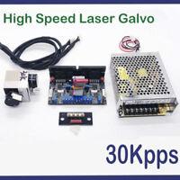 30Kpps High Speed galvo scanner for laser show lighting/RGB Laser system Scanner