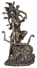 Medusa Bowing Veronese Bronze Figurine Statue Women Female Snake