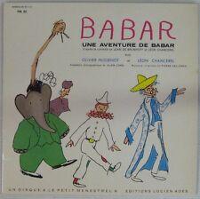 De Brunhoff 33 tours Une aventure de Babar