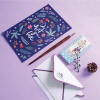 Pflanze  Blumen Umschläge Brief Briefpapier Papier Schreibset Büro Schulbedarf