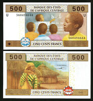 CENTRAL AFRICAN STATES CAMEROUN 500 FRANCS 2002 (2015) UNC P NEW HYBRID