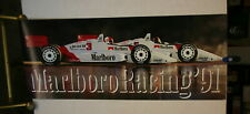 MARLBORO PENSKE TEAM INDY CAR POSTER OVERSIZED 50 X 24 FULL COLOR 1991 INDY CAR