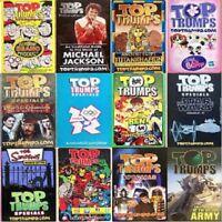 Top Trumps Single Card Pop Stars Music Buffs Card Game Various Artists (FB3)