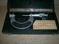 Mahr 1 2 0001 Thread Pitch Micrometer With Case