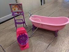 Barbie Dream Bathtub, Toilet & Accessories