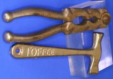 More details for antique vintage mccowan's toffee hammer & nutcrackers [22182]