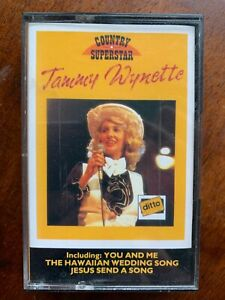 Tammy Wyette Country Superstar Music Audio Cassette Tape
