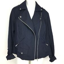 Lane Bryant Tailored Stretch Pinstripe Jacket. Size 16W. New With Tags