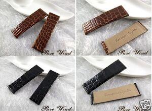 Genuine alligator Band Strap Bracelet (FITS) Rolex Cellini PRINCE 6.5cm + 6.5cm