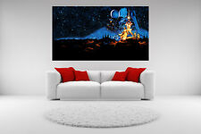 Star Wars Canvas 1977 Giclee Print Picture Unframed Home Decor Wall Art