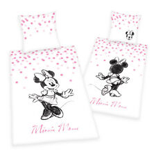 Minnie Mouse Bettwäsche 80x80 135x200 Cm