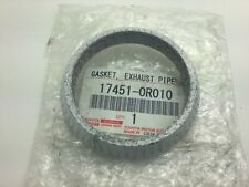 Genuine Toyota Lexus Gasket Exhaust Pipe Ring 75.5mm Avensis Auris 17451-0R010