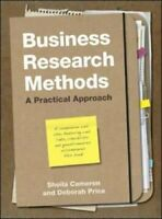 Business Research Methods A Practical Approach by Sheila Cameron 9781843982289