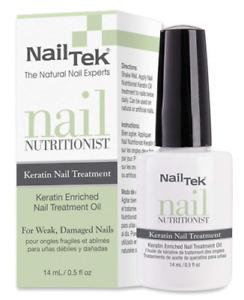 Nail Tek Nail Keratin Nail Treatment 14 mL New Boxed