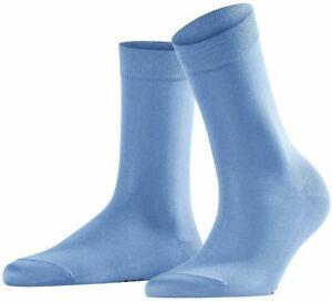 Falke Womens Cotton Touch Socks - Sky Blue