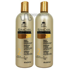 "Avlon Keracare Natural Texture Leave in Conditioner 16oz ""Pack 2"" Free Body Oil"