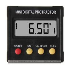 360°Mini Digital Protractor Inclinometer Angle Meter with Magnetic Base #3YE