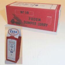 Morestone Petrol Pump Series 18 Foden Dumper Lorry empty Reproduction Box
