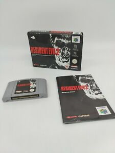 RESIDENT EVIL 2 (Nintendo 64 / N64 Game) - Boxed with Manual! - UK - PAL