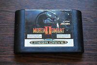Jeu MORTAL KOMBAT II 2 pour Sega MEGA DRIVE (cartouche seule)