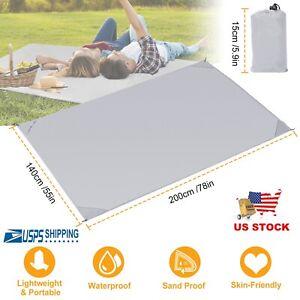 Sand Free Beach Large Blanket Mat Portable Outdoor Waterproof Picnic Mattress