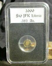 2000 Liberia  $ 10.00  Gold (.585 Fine) Coin.! Add Gold to your Portfolio !