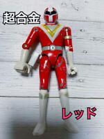 Chogokin 1990 Chikyu Sentai Fiveman Figure Red Vintage Retro Toy Japan