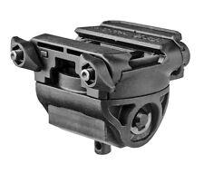 H-POD -S Fab-Defense Black Harris Bipod Tilting & Rotating Picatinny Adaptor