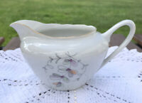 Creamer Czechoslovakia Flowers By Fine Bohemian China