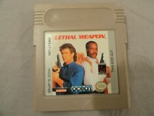 Lethal Weapon (Nintendo GameBoy, 1993) TESTED & WORKING!! -Cart Only- GB GBC GBA