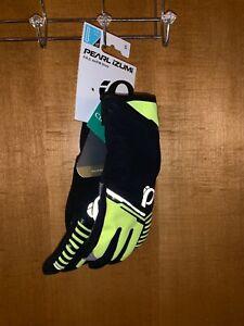 Pearl Izumi 2018 Men's PRO AmFIB Full Finger Cycling Gloves - Screaming Yellow