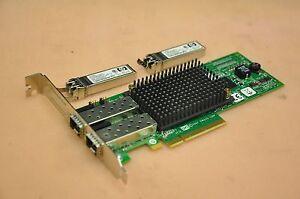 HPE HP 82E AJ763B 8Gb 2-Port PCIe Fibre Channel Host Bus Adapter Card 697890-001