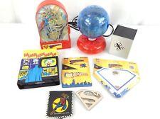 Super Hero Lot - Superman, Batman, Spiderman. Game, Light, Wallet, and more!