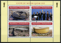 Madagascar 2019 CTO Football World Cup Qatar 2022 4v M/S Soccer Sports Stamps